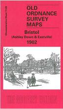 OLD ORDNANCE SURVEY MAP BRISTOL ASHLEY DOWN & EASTVILLE 1902