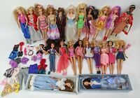 22 80s/90s/00s Barbie's w/ Clothes & Accessories Large Lot Vintage Fast Shipping
