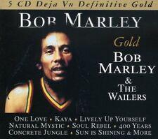 BOB & THE WAILERS MARLEY - DEFINITIVE GOLD - BOX-SET 5 CD NEUF