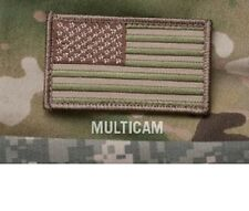 "Morale Patch Milspec Monkey MSM - AMERICAN USA US FLAG 3.25"" x 2"" MULTICAM ARID"