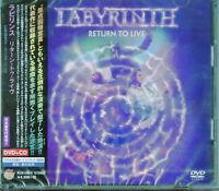 LABYRINTH-RETURN TO LIVE-JAPAN DVD+CD BONUS TRACK K81 zd