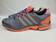 Details about Adidas Supernova Sequence 6 Mens Running Shoes Size 11.5 Gray Peach Orange