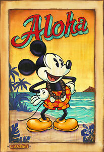 Waves of Aloha - Trevor Carlton- Limited Edition Giclée On Canvas