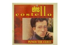 Elvis Costello Poster Punch The Clock Flat