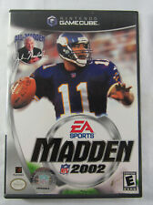 Madden NFL 2002 (Nintendo GameCube, 2001) Cleaned & Tested!