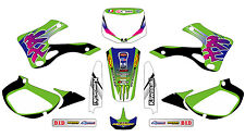 5282 KAWASAKI KX 125 250 1999-2002 99-02 DECALS STICKERS GRAPHICS KIT