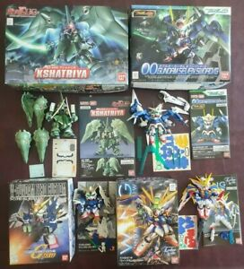 SD BB 366 Gundam W Endless Waltz + 367 Kshatriya + 368 Seven Sword + 203 G Zero