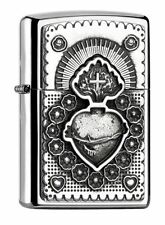 Trick Zippo MEXICAN HEART 2005136 High Polished Neu+OVP Collection 2017