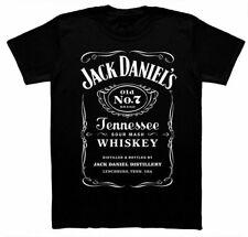 Hot Sale! T Shirt JACK DANIELS CLASSIC Black Gift unisex Regular Size S-3XL