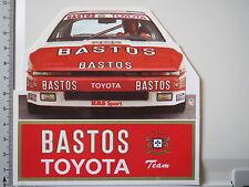 Pegatina Sticker toyota bastos-racing-Supra Turbo - 1987-spa - (m1142)