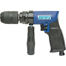 Aurora Tools 12 Air Reversible Drill Two Gear Structure 4 Cfm 450rpm
