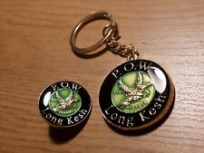 Republican Long Kesh P.O.W. Keyring & Badge Set Ireland New Exclusive