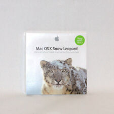 Apple Mac OS X 10.6.3 Snow Leopard MC573D/A Vollversion Intel Betriebssystem OVP