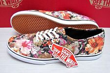 Vans Authentic Lo Pro Floral Coriander True White VN-0W7NERF Women's Size 10