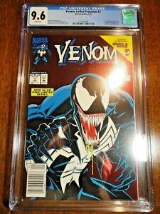 Venom: Lethal Protector #1 Rare Newsstand Variant CGC 9.6 NM+ Red Foil Marvel
