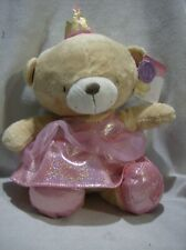 More details for forever friends plush 12inch teddy dressed as princess