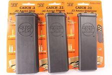 Pack of 3 .22 Ammo Holder Catch .22 USA Storage Dispenser Holder no ammunition