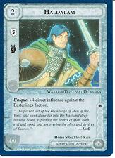 MIDDLE EARTH BLUE BORDER PREMIER RARE CARD HALDALAM