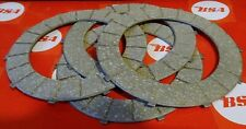 "BSA  250cc/440cc B25 B44.B50  SET OF 4 CLUTCH PLATES ""SURFLEX"""