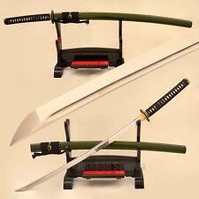 Handmade Samurai Katana Full Tang Real Japanese Sword 1095 Steel Blade Sharp