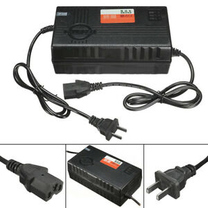 Battery Charger 48V 2.5A with Adaptor for Electric Car Bike Scooter E-Bike