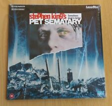 Stephen King: Pet Sematary (1989) PAL version Laserdisc PLFEB 35321