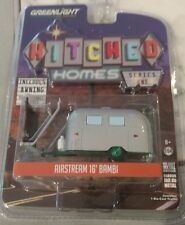 Greenlight Green Machine Chase 1/64th Hitched Camper RV Airstream 16' Bambi