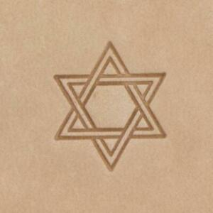 Mini Craftool® 2-D Leather Stamp - Star