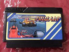 FAMICOM FINAL LAP 1988 NAMCO Nintendo FC FAMILY COMPUTER game