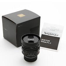 NIB Voigtlander NOKTON 50mm F/1.1 VM lens for Leica M240 M9 P M7 MP M6 M-P