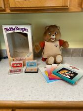 1985 TEDDY RUXPIN Worlds of Wonder Talking Plush Bear - Read Description