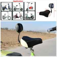 Wide Comfortable Tricycle Electric Bike Bicycle Saddle Seat Pad With Back Rest