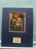 Rockwell's painting of a Den Chief helping his Cub Scouts &Boy Scout stamp