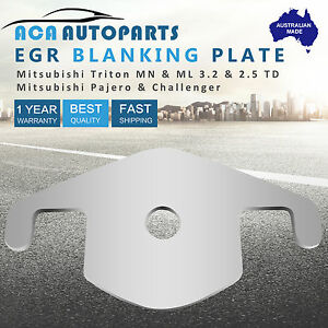 EGR Blanking Plate for Mitsubishi Pajero 4M41 3.2L TD Block Off Plate