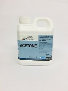 Acetone 100% 1L - Pure Nail Polish Remover. FREE Postage Aus Seller !!