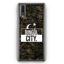 Huawei p20 hard cover funda bingöl City camuflaje motivo Design turquía Türkiye