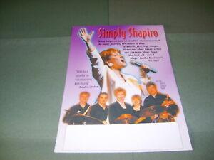 Helen Shapiro 1990s Large Handbill/Flyer