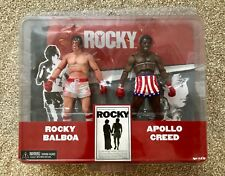 Rocky Balboa Apollo Creed NECA figures Flambant Neuf Scellé Boxing Set