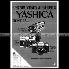 YASHICA ELECTRO AX REFLEX 24X36 COMPACT 35 MC 1973 Pub / Publicité / Ad #A1499