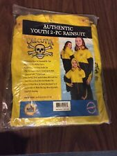 NEW YOUTH Calcutta Big Rock PVC 2pc RAIN SUIT Size M 10-12 Hunting Fishing Sport