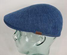 KANGOL INDIGO 507 Flatcap Jeans blau Mütze Ivy Cap Sommermütze Denim Gatsby NEU