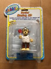"""Webkinz 3"""" Figur, Arzt Monkey MD mit geheimen Online Code von ganz"""