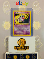 Mr. Mime 22/64 1st Edition LP/NM Near Mint Jungle Set Rare Non-Holo Pokemon Card