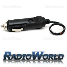 12v Male Car Cigarette Lighter Socket/Plug/Connector 5A Fuse With Lead