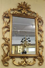Fabulous Large Gold Gilt Solid Wood  Rococo Style Beveled Mirror