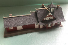 N Scale Built-Up Train Station