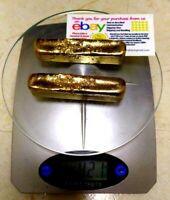 421 Grams Scrap gold bar for Gold Recovery Melted Different Computer Coin Pins