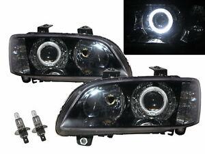 G8 2008-2009 Guide LED Angel-Eye Projector Headlight Black for PONTIAC RHD