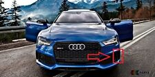 NEW GENUINE AUDI RS7 14-17 N/S LEFT FRONT BUMPER LOWER GRILL TRIM COVER BLACK