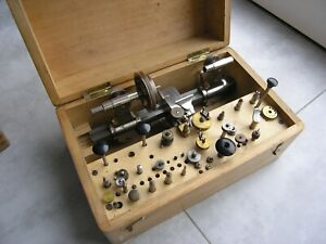 WATCHMAKER LATHE 8 mm.Made by  G.Boley.